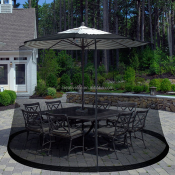 Umbrella Mosquito Net Canopy Patio Set Screen House Umbrella Table Screen