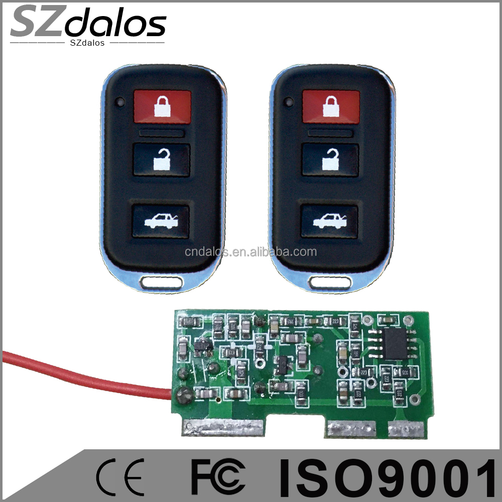 DC 12v 10A Remote Control 315MHz Relay 1CH Wireless RF Remote Control Switch Transmitter With Receive For Electric Gates Doors
