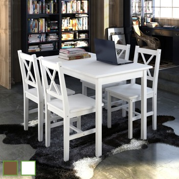 Wooden Dining Table 2 Chair Or 4