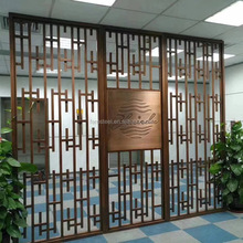 Decorative living screens waterfall room dividers for restaurant