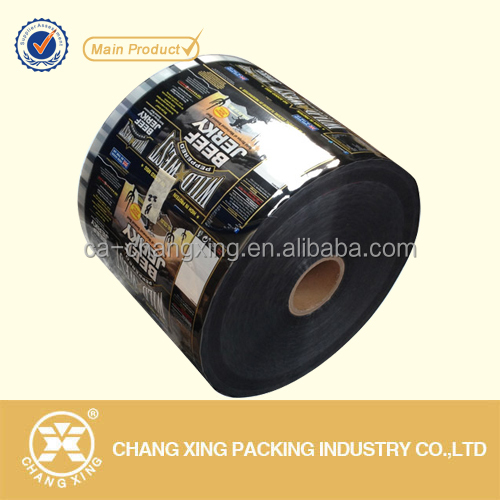 Eco-friendly aluminum foil laminated plastic food packaging roll film for coffee/powder sachet