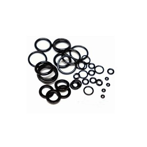 Shower Head Rubber Seal Gasket Food Grade Elastic Black Ptfe O Ring