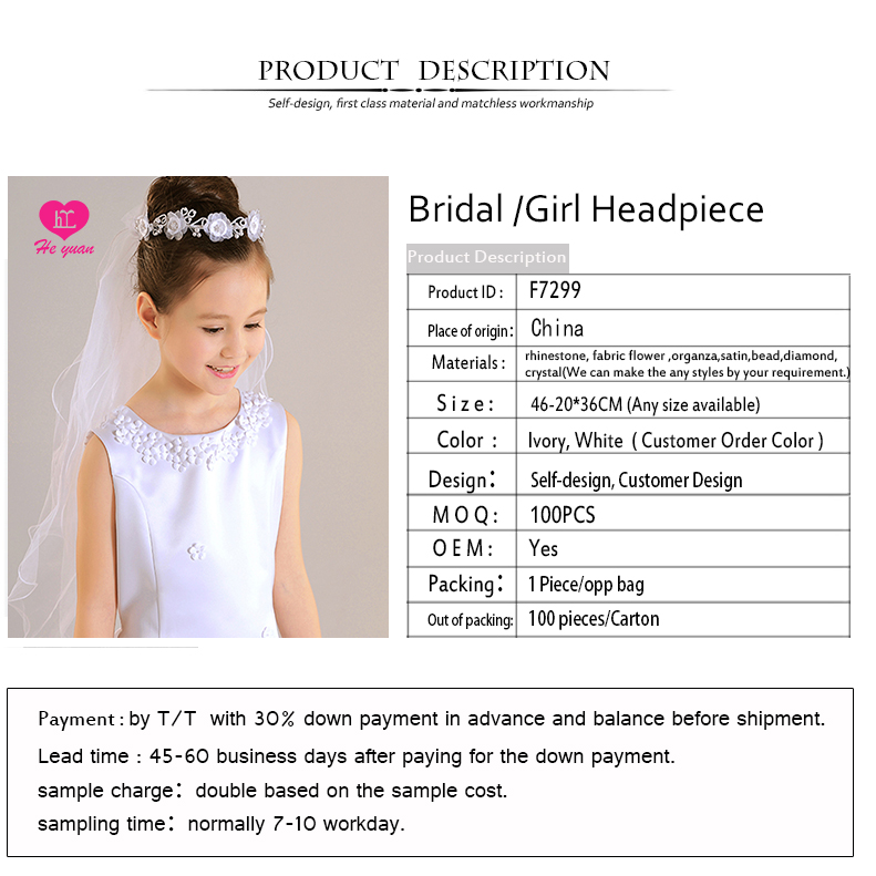 F7299Fashion Hair Jewelry Romantic Wedding Bridal Crystal Headband Headpiece Rhinestone