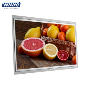 Top 5 continuous working for 7*24 hours video player cabinet use embedded marketing lcd advertising equipment display