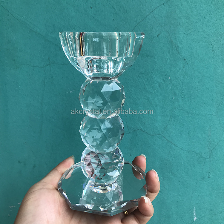 Europe regional feature, votive crystal ball pillar candle holder on sale