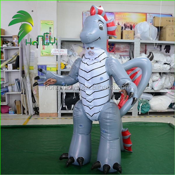 2017 Inflatable Animal Dragon Costume/Adults Inflatable PVC Suit From Hongyi