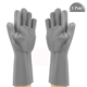 FDA Reusable Dish Wash Scrubbing Sponge Gloves, Silicone Cleaning Gloves