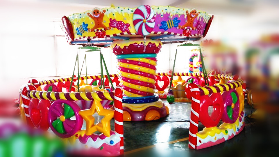 2016 Sipuls Amusement Park Carousel Gardens Riding Game Merry Go Round