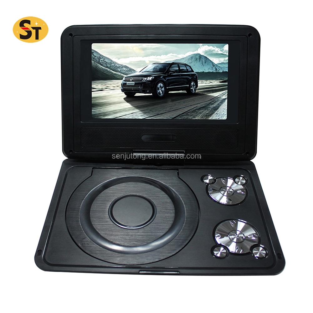 mini 3d kids portable dvd player with tv tuner and radio