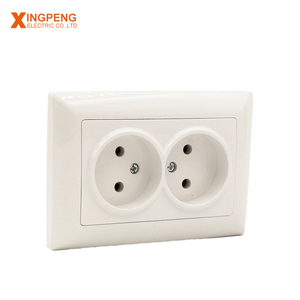 fashionable patterns twin type power ourlet ce socket the wall socket
