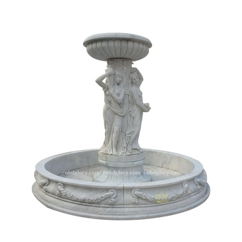 Stone carving natural marble figure statue Water fountain