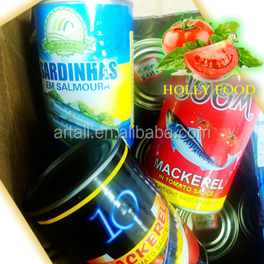 CANNED FISH 425g/185g/125g mackerel sardine in tomato sauce southest asia middle east america west africa ecowas EU east europe
