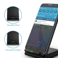 Fast Universal Cell Phone Stand Powermat Wireless Charger For Samsung For Iphone