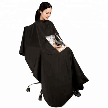 Factory Sale Hairdressing Salon Barber Cape With Viewing Window
