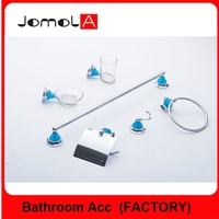 2017 New design wall mounted bathroom accessories set for home& hotel BLJ-1500