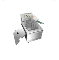Hot sale CE certificatie Commercial 8.5L 1 tank 1 basket table top/ counter top Electric Fryer HY-901