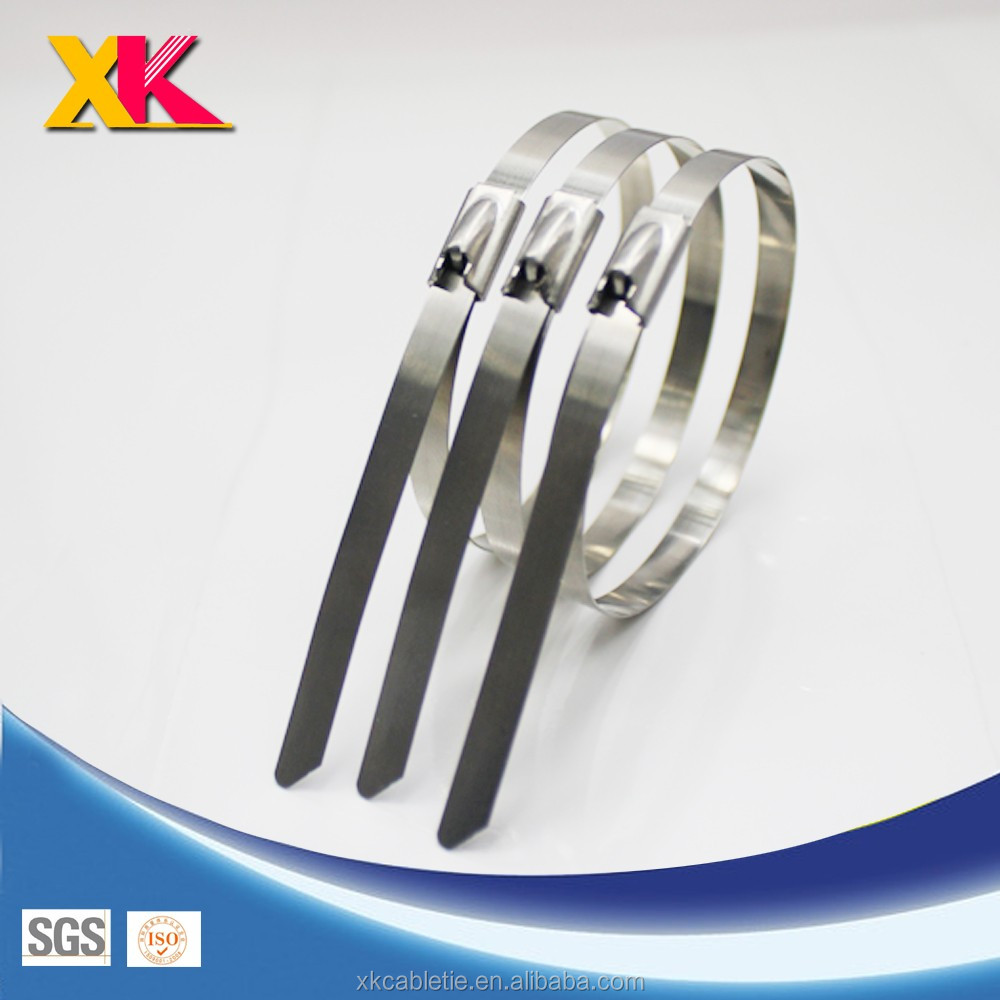 factory sell direct self locking stainless steel cable ties 4.6mm*350mm