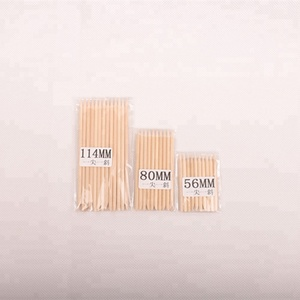 Disposable good quality nail art manicure wooden nail sticks wholesale factory price orange wood sticks