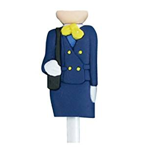 Flight Cabin Attendant Tee set (8 tees) 82 mm (Japan)
