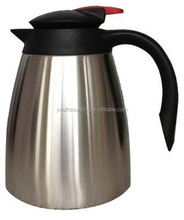 high efficiency750ml double wall stainless steel 12V electric coffee kettle with handle