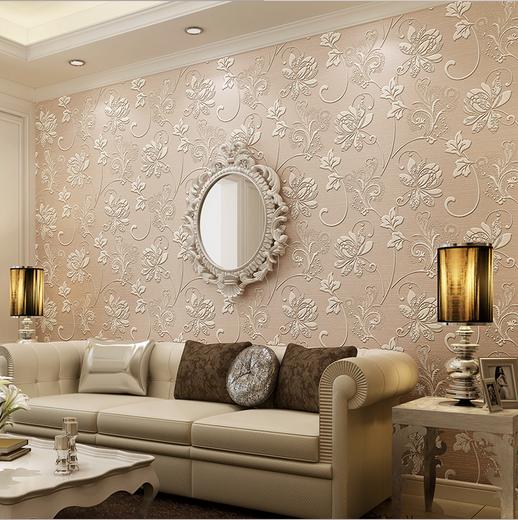 Venta al por mayor papel decorativo para paredes de salas for Precio papel pared decorativo