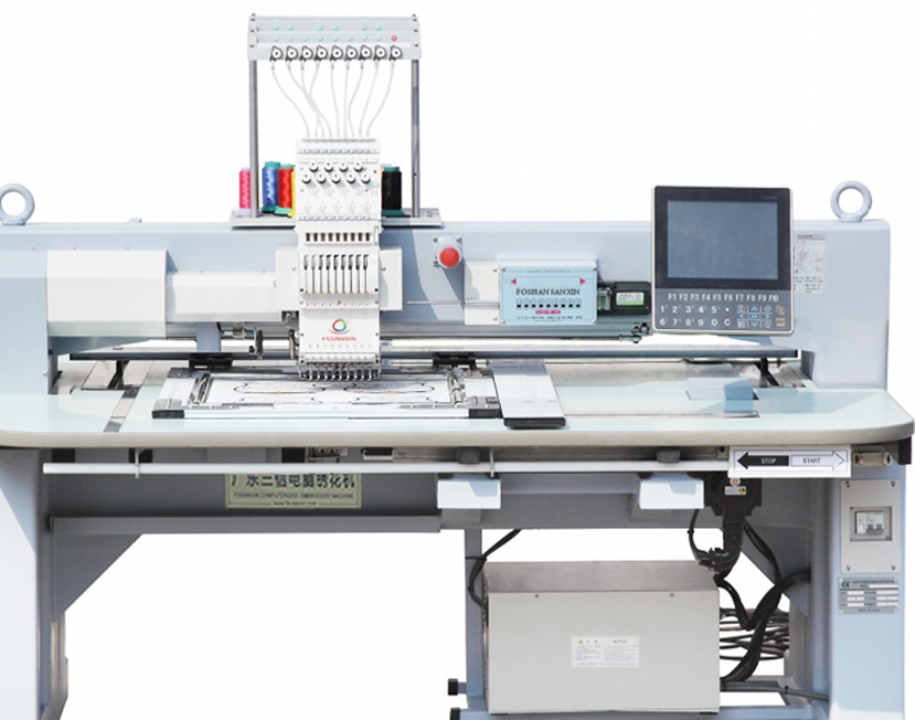 Single head computer embroidery machine in China with good price