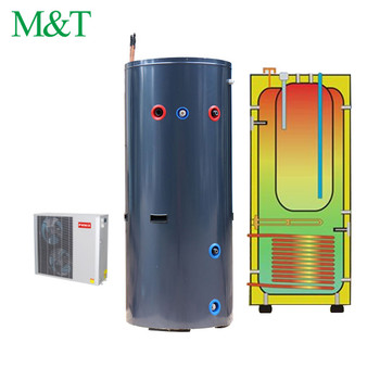 Water To Water Source Geothermal Heat Pump Hot Pressure Tank 200l ...