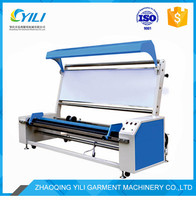 simple fabric checking inspection rolling and measuring machine