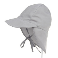 6-18 Mouths summer hat UPF 50+ baby flap sun protection hat