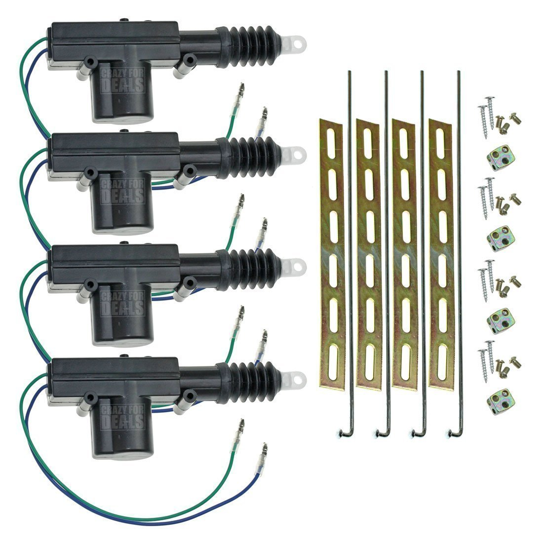 Cheap Power Door Lock Wiring Find Deals On Universal Actuator Diagram Get Quotations Installgear Car 12 Volt Motor 4 Pack
