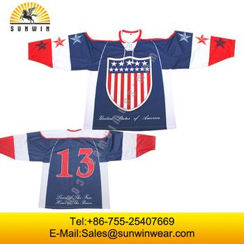Team Canada Usa Hockey Custom Team Ice Hockey Goalie Jerseys Buy