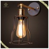 American Country Style Iron Shade Wall Lamp Industrial Loft Wall Lamp Home Decorative Wall Lamp
