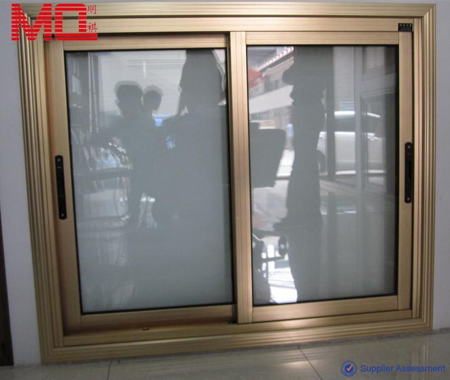 Guangzhou China Classical Champagne Color Aluminum Sliding Window   Buy  Champagne Color Aluminum Sliding Window,General Aluminum Windows,Cheap  Aluminum ...