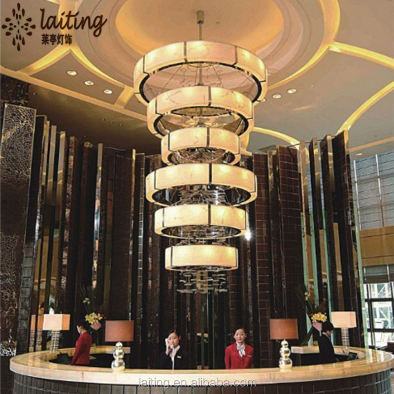 Star Hotels Large Modern Led Pendant Light