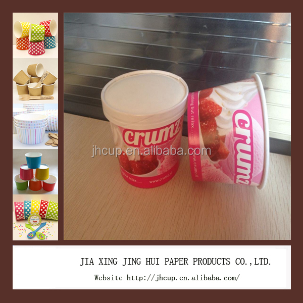 10oz ice cream paper cup and ice cream container of any other size paper cups