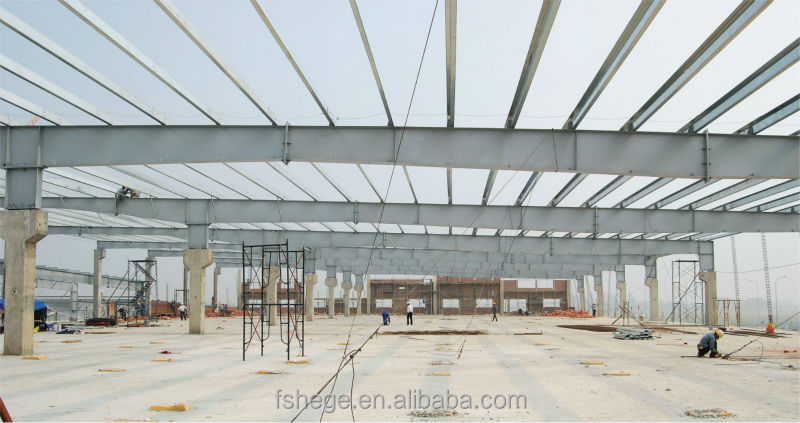 Fast installation steel structure for warehouse