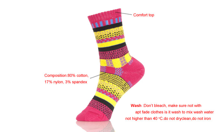 Funky Colored Feet Korean Funny Socks Men
