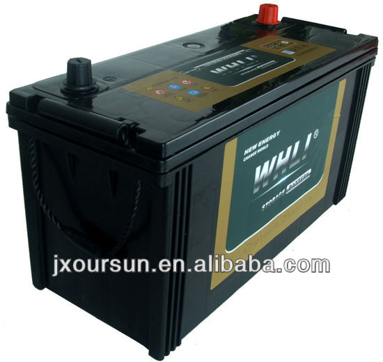 Producing Super Quality Lead Acid Heavy Duty Truck Battery 115E41MF 12V110AH WHLI