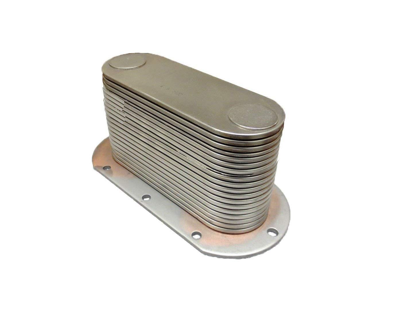 Get Quotations · Aftermarket Replacement for Detroit Diesel MTU 6V-92, 552  Series Oil Cooler