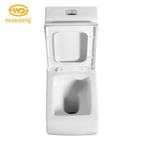 Hot selling sitting pan pressure assisted toilets dry flush toilet