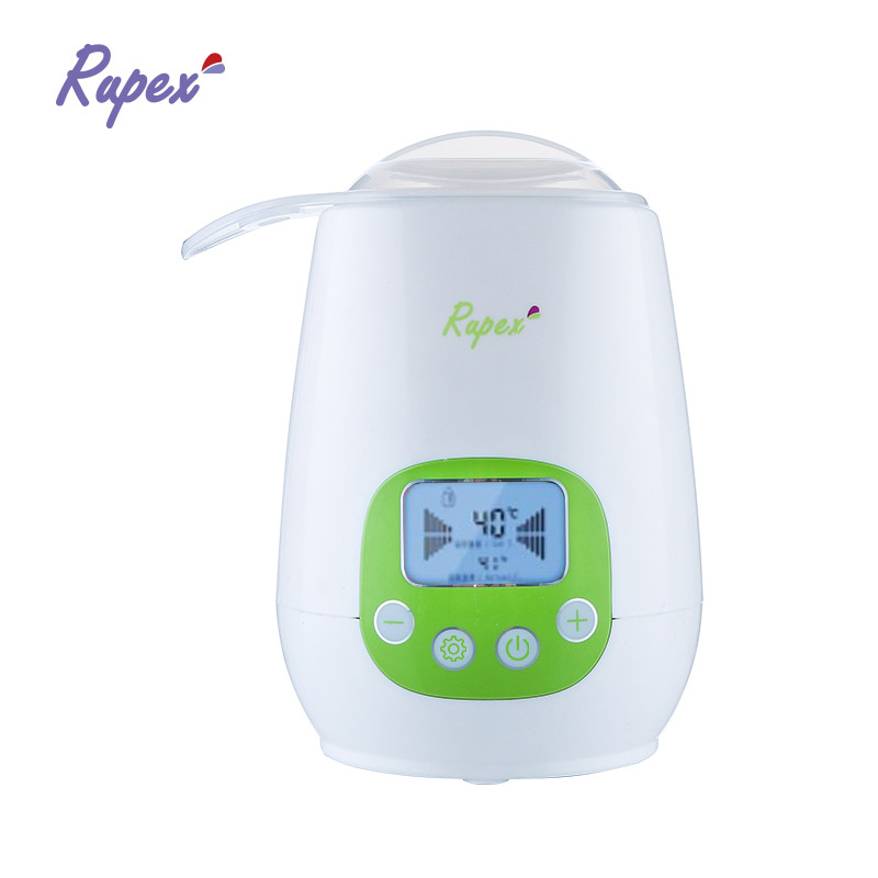 LCD display multi-function baby food and milk battery bottle warmer