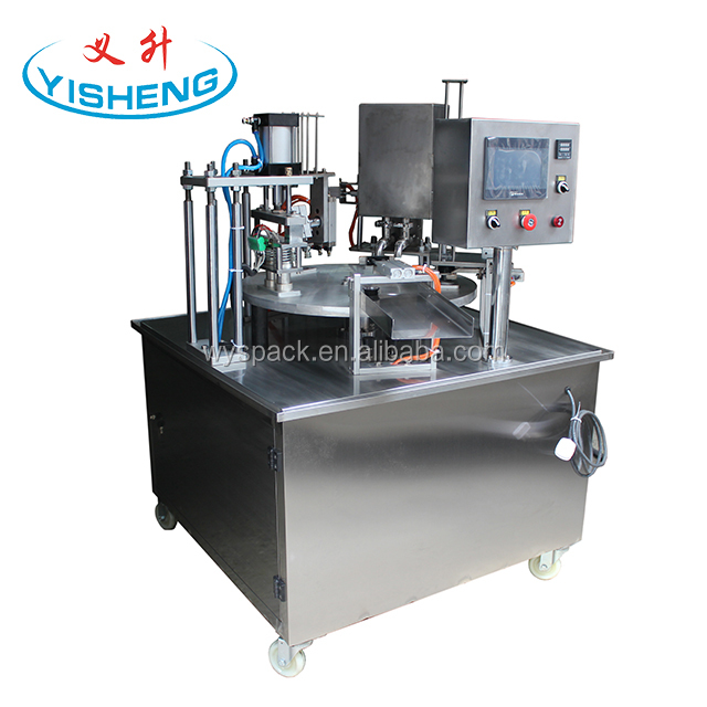 England custom automatic coffee powder K cup filling sealing machine