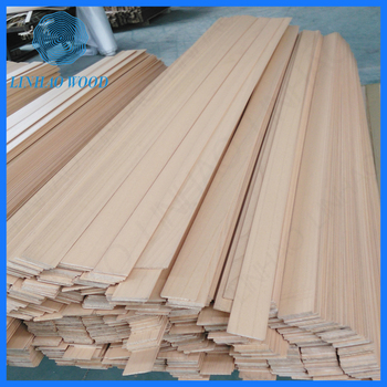 Factory Price Wooden Shutter Slats Wood Components