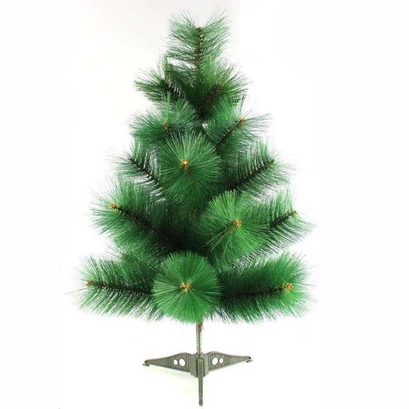 Christmas Tree Needles: Outdoor-Green-Artificial-Pine-Needles-Christmas-Trees-60cm