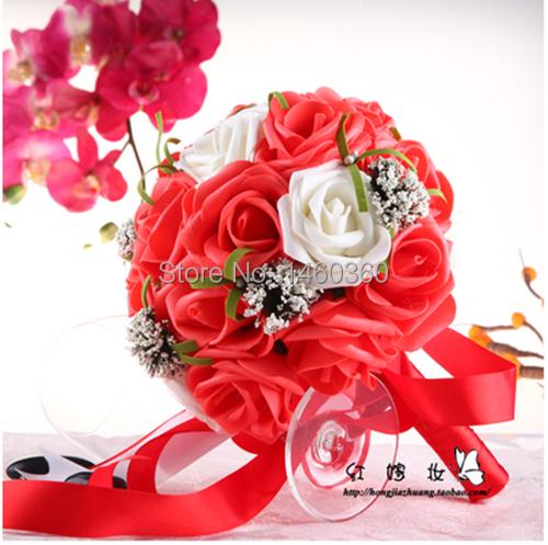 Korean Wedding Flowers: 2015-Korean-Style-Bride-Bridesmaid-Party-Wedding-Bouquet