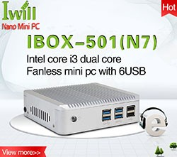 Iwill Cheap Thin Client Price Intel N3160 Quad Core Mini Family Computer With SIM Slot