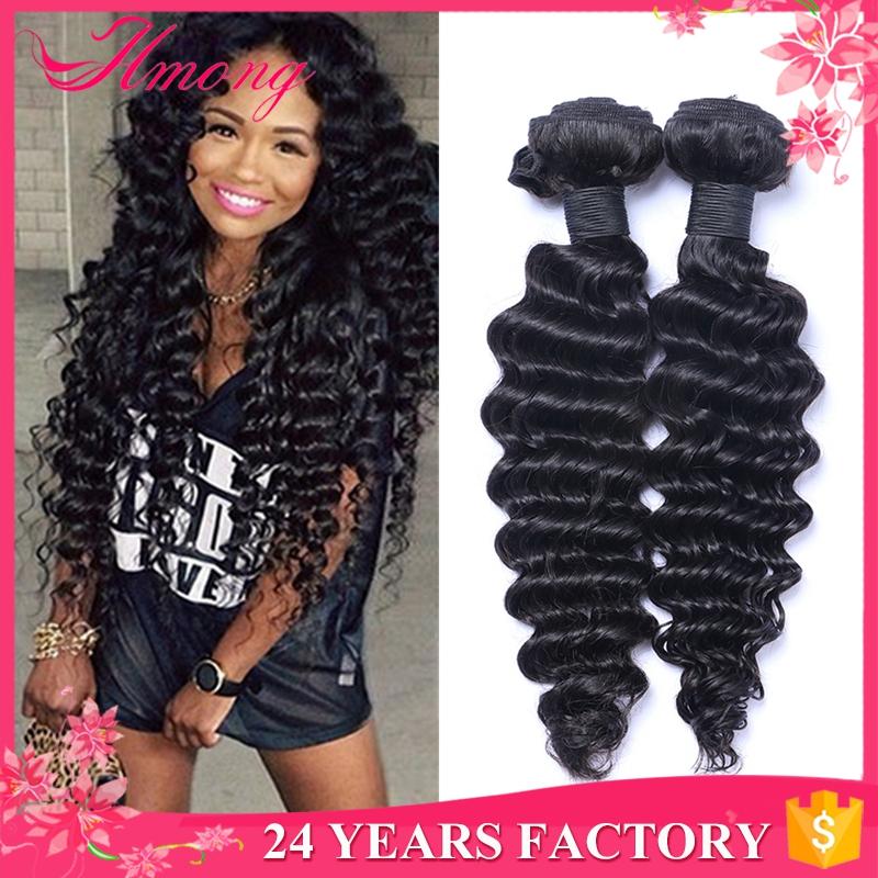 Malaysian Hair Products Deep Curly Wavy Hair Extension Natural ...