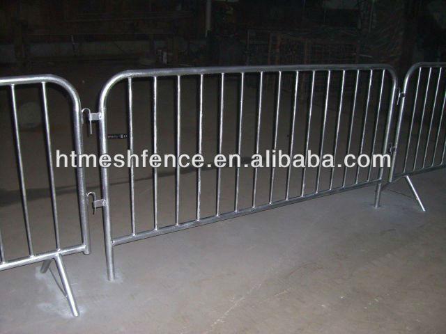 Crowd Control Steel Crush Barrier /pedestrian Crash Barrier/portable Crowd  Control Fencing For Event Games - Buy Metal Pedestrian Barrier Steel