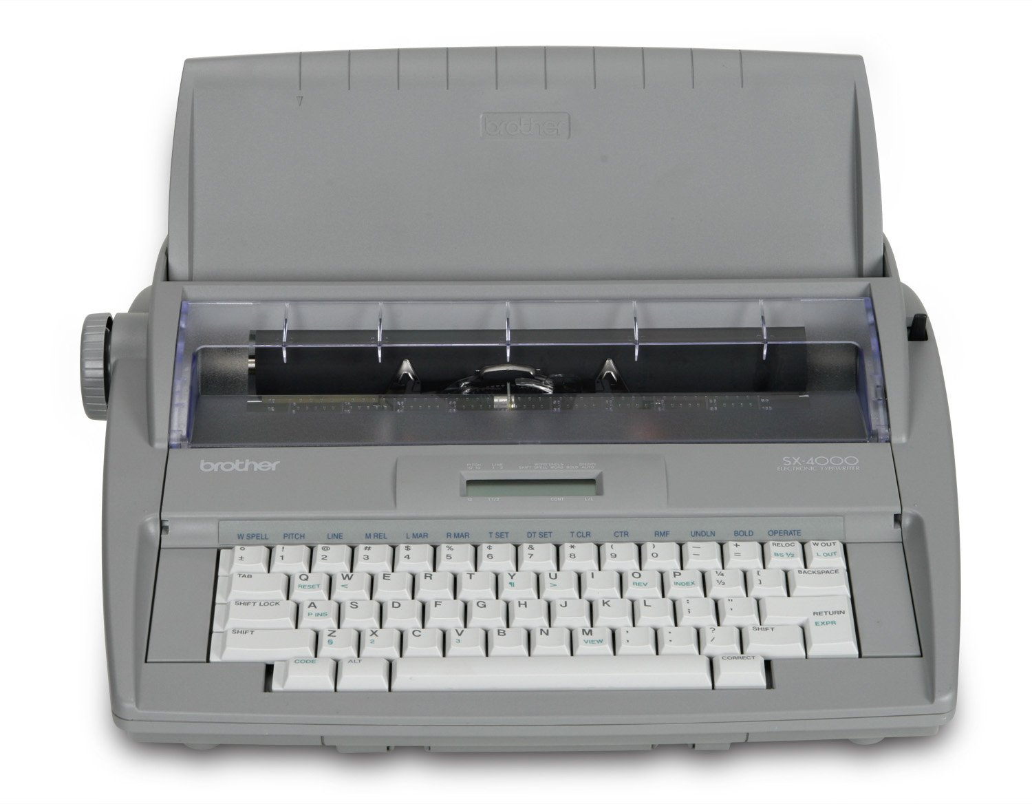 Get Quotations · Brother Printer RSX4000 Electronic Typewriter with  Dictionary (Certified Refurbished)