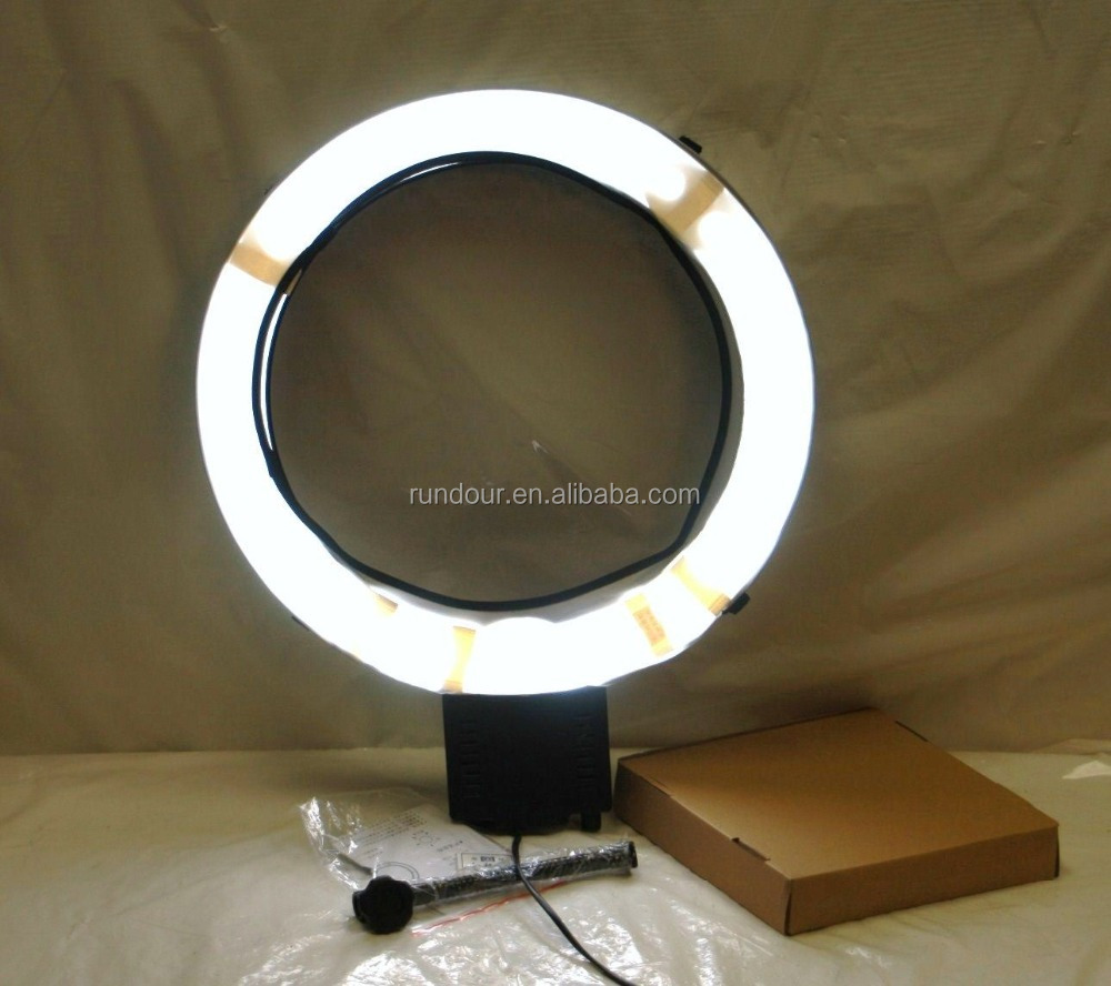Nanguang CN-65C Pro Ring Light Lamp 5400K Continuous Fluorescent Makeup Ring Light Lamp Camera Macro ring flash led light